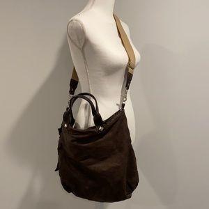 Tylie Malibu Brown Crossbody Messenger Bag